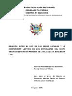 Estructura Proyecto Tesis Maestría UCSM
