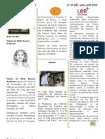 Boletim Informativo Julho 2010