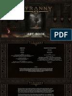 Tyranny Art Book