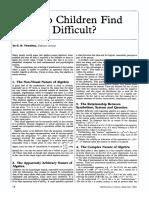 Vol-11-No4 Sep 1982 Why Do Children Find Algebra Difficult