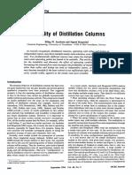 Instability of Distillation Columns - Jacobsen1994