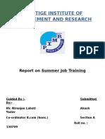 Job Training Report-1[1]
