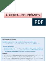 ResumosÁlgebra Polinómios