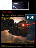 Babylon Project Sourcebook