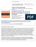 Concepts and Sensory-motor