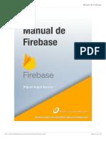 Manual Firebase