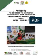 Proyecto III Congreso Pangoa