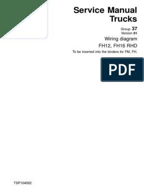 FH12 FH16 RHD Wiring Diagram | Electrical Connector | Ac Power Plugs And  SocketsScribd
