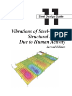 Design Guide 11 Vibrations of Steel Framed Structural Systems Due to Human Activity Second Edition 1