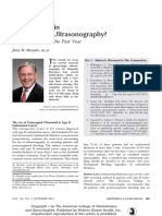 What is New in Gynecologic Ultrasonography Best.31