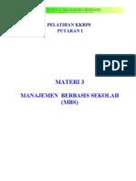 3. Manajemen Berbasis Sekolah