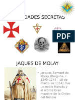 SOCIEDADES SECRETAS
