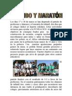 Reseña partido y maratón Colegio Pinosierra