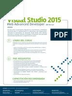 Visual Studio 2015 Web Advanced Developer c