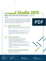 Visual Studio 2015 Web Advanced Developer c