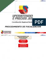 Flujograma Procedimiento de Fiscalizacion