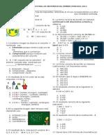 Math y Español 1p 2016
