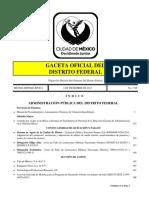 Gaceta Df 06 Dic 2013 Manual de Procedimientos y Lineamientos Tecnicos de Valuacion Inmobiliaria