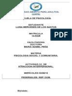 MARIA ISABEL TAREA (5). PSICOLOGIA SOCIAL..docx
