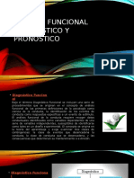 Analisis Funcional Diagnostico y Pronostico