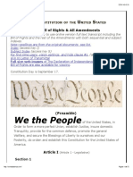 Constitution for the United States - We the People