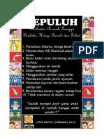 Poster Phbs Disnakertrans