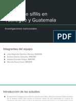 PPT Estudio de sífilis en Tuskegee y Guatemala