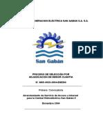 Ejemplo de Informe de Bases de Una Convocatoria