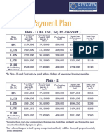 Payment Plan - Revanta Heights