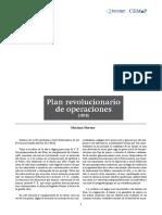 Mariano Moreno.plan de Operaciones