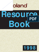 Roland Resource Book