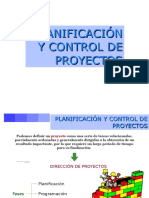 Planificacion y Control de Proyectos