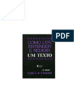 FAULSTICH, Enilde L. de J. Como Ler, Entender e Redigir Um Texto