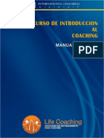Manual de Introducción Al Coaching