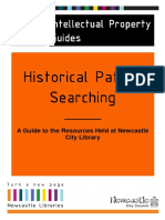 A Guide to Historical Patent Searching