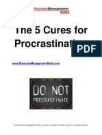 The 5 cures for procastinatination.pdf