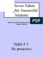 Seven Habits of Successful Students Copy