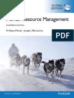 Human Resource Management, Glob - R. Wayne Dean Mondy.pdf