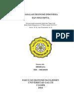 MAKALAH MASALAH EKONOMI DI INDONESIA DAN SOLUSINYA.docx