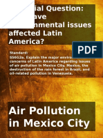 latin america and environmental issues