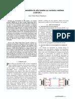 Tecnología HVDC