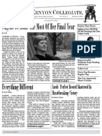 The Kenyon Collegiate - Issue 5.1