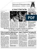 The Kenyon Collegiate - Issue 4.11