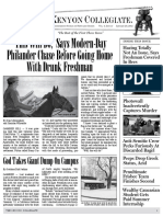 The Kenyon Collegiate - Issue 4.7