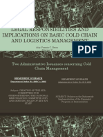 Legal Implications of Cold Chain Management