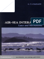 Csanady Air Sea Interaction