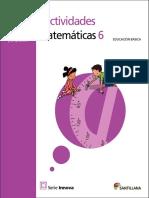 Fichas Matematicas  grado 6
