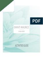 Activities Guide