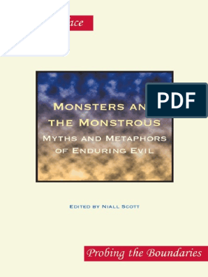 Niall Scott - Monsters and the monstrous myths and metaphors of