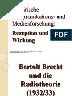 Empirische Kommunikations- und Medienforschung nach Brecht und Adorno (Präsentation)